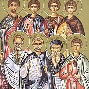 45 de mucenici care si-au dat viata pentru hristos
