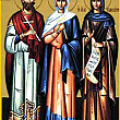 ziua sfintilor alexandru si antonina