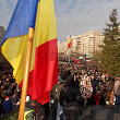 partidele si-au etalat sustinatorii de ziua nationala a romaniei  foto