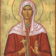 astazi pomenirea sfintei hristina