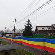 1 decembrie la magurele caravana inedita si cel mai mare drapel din prahova foto
