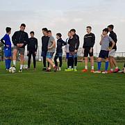 exclusiv acs steagul rosu brasov singura echipa de copii din romania aflata in cantonament in antalya foto