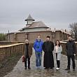 jurnalisti basarabeni in vizita la  manastirea turnu targsoru vechiprahova