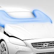 volvo introduce airbag-ul pentru pietoni video