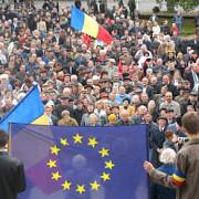 miting  pro europa la chisinau