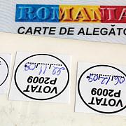romanii vor vota doar cu buletinul cartile de alegator nu vor mai fi emise