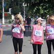 reginele alergarii au colorat breaza in roz foto