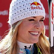 schi alpin lindsey vonn a castigat slalomul super-urias de la bansko