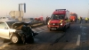 accidente in lant pe autostrada soarelui 22 de persoane ranite