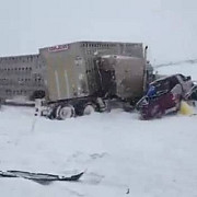 canada accident soldat cu 100 de raniti pe o autostrada