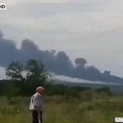 un avion lovit de o racheta s-a prabusit la donetsk