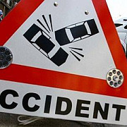 accident pe dn1 d la ciorani