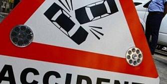 trafic oprit pe dn1 accident cu trei raniti in sinaia