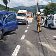accident grav pe dn1 la comarnic foto video