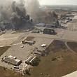 intense schimburi de focuri in zona aeroportului din donetk