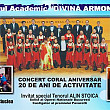 eveniment muzical de exceptie la busteni  concert coral aniversar la 20 de ani de la infiintarea corului academic  divina armonie