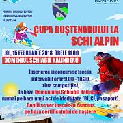 cupa bustenarului la schi alpin cu premii in valoare de 16000 de lei weekend cu evenimente sportive la busteni