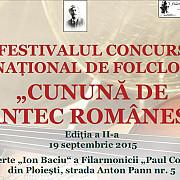 festivalul  cununa de cantec romanesc a ajuns la a doua editie
