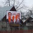 banerele candidatilor ard vandalizate in colegiul 5 deputati