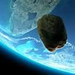 un asteroid urias s-a apropiat astazi de terra