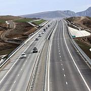 autostrada pitesti  sibiu a ajuns la poalele muntilor fagaras