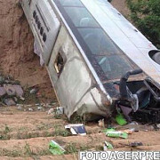 un autocar a cazut intr-o prapastie 24 de oameni au murit