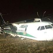 roma 16 raniti dupa ce un avion carpatair a ratat aterizarea
