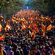 un milion de persoane in strada la barcelona pentru a sustine ramanerea cataloniei in spania