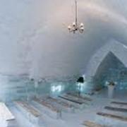 biserica de gheata de la balea lac a fost sfintita de un sobor de preoti