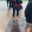 video stadionul de la blejoi inundat