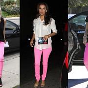 trend-ul verii cum asortezi  jeansii roz neon