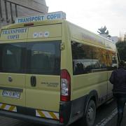 buletinele de vot transportate cu microbuzele scolare
