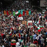 ministrii si parlamentari bulgari blocati de catre manifestanti