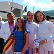 olimpicii din busteni premiati de repezentantele lotului feminin de spada