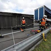 un camion inmatriculat in romania a blocat o autostrada din franta