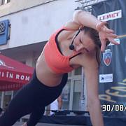 show unic de aerobic la campina