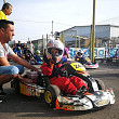 foto pasiune si adrenalina campion la karting la numai 8 ani