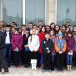 elevi din ceptura si fantanele in vizita la palatul parlamentului