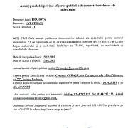 anunt prealabil primaria comunei cerasu