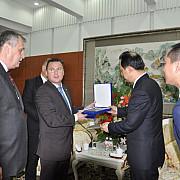 azuga se infrateste cu orasul chinez yichhun