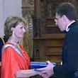 dorin chirtoaca primarul chisinaului decorat cu ordinul coroana romaniei in grad de cavaler