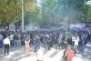 independenta moldovei sarbatorita cu o impresionanta parada militara dar si cu proteste