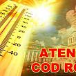 meteorologii au prelungit pana duminica codul rosu de canicula