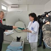 noul tomograf  de la spitalul judetean functioneaza