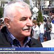 protest la dacia producatorul vrea sa plece din romania din lipsa autostrazilor