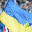 drapelul ucrainei arborat pe una din cele mai inalte cladiri de pe cheiul moscovei