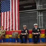 la ceremonia de schimbare de comanda de la deveselu tricolorul a fost folosit catapet