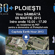 ploiesti- capitala earth hour 2013