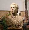 un bust al poetului national la ulmu