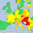 cod rosu de canicula in mai multe tari din centrul europei